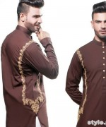 Wajahat Mansoor Menswear Collection 2015 For Eid-Ul-Fitr 4