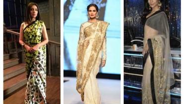 Which Pakistani Celebrities Look Beautiful In Saree