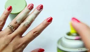 dry nail polish