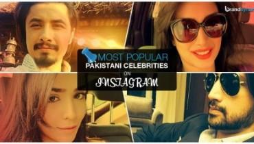 Pakistani Celebs on Instagram