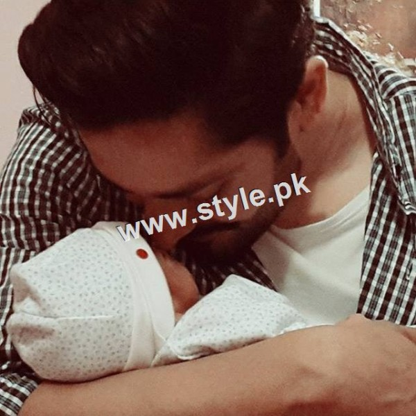 See Ayeza and Danish decided their daughter's name