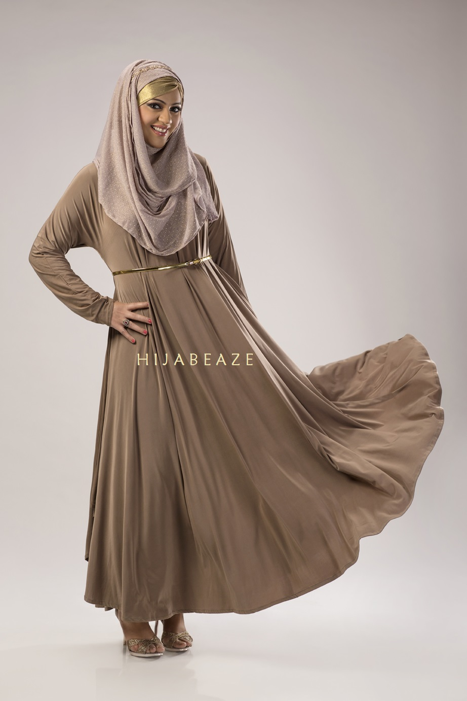 See Abbayas collection of Hijabeaze 2015 by Urooj Nasir