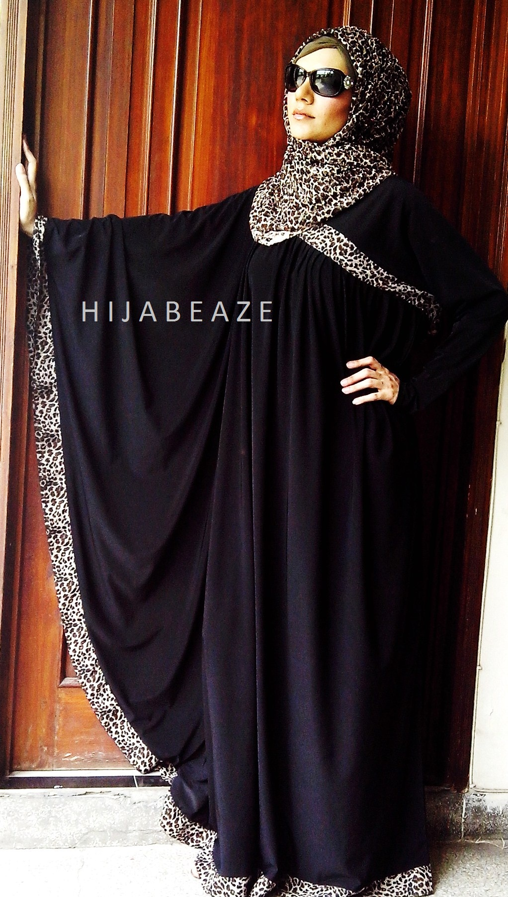See Abayas collection of Hijabeaze 2015 by Urooj Nasir