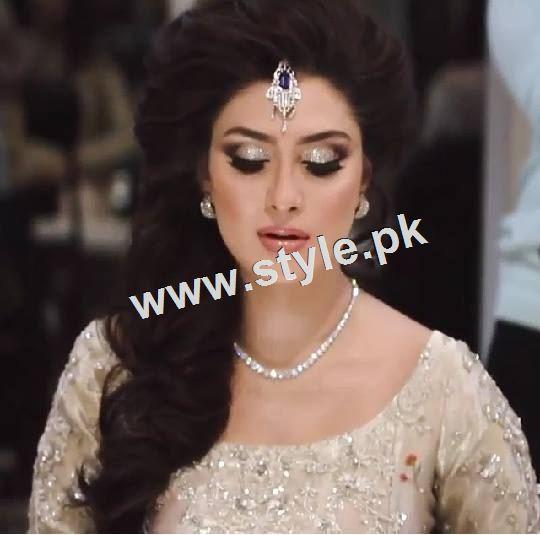 Ayeza Khan as a signature bride of Natashas Salon  2