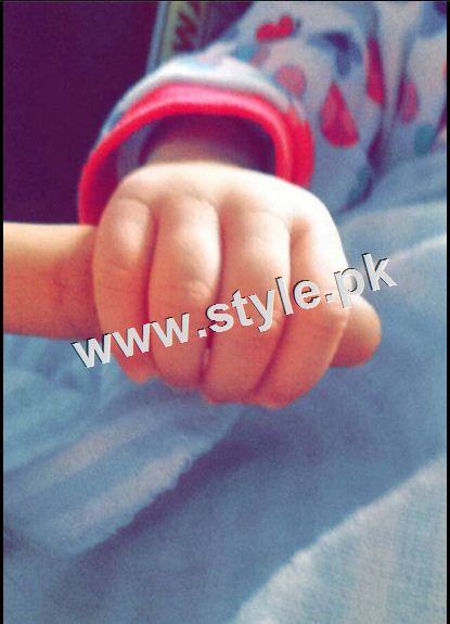 Ayeza and Danish decided daughter name Hoorain Taimoor 1
