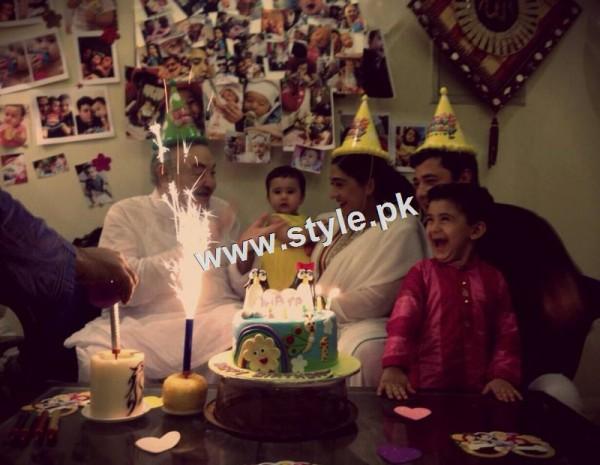 Birthday Celebration of Madiha Rizvi and Hassan Noman's daughter Annaya