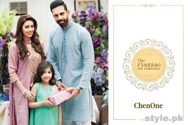 Chen One Eid Dresses 2015 For Men, Women and Kids 7