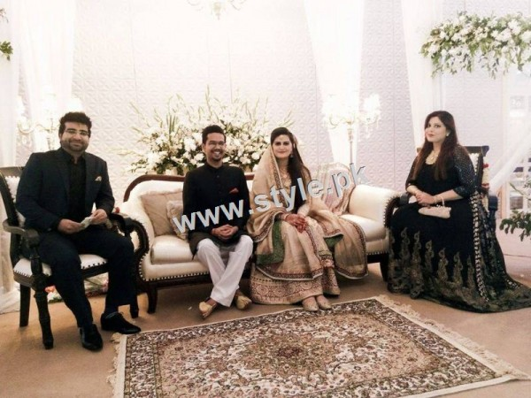 Complete Wedding pictures of Ali Gul Pir and his bride (3)
