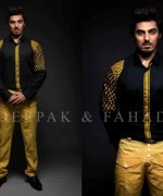 Deepak And Fahad Eid Collection 2015 For Men002