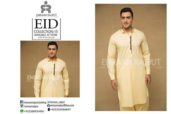 Emraan Rajput Eid Collection 2015 For Men001