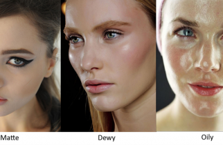how to get shine on face naturally
