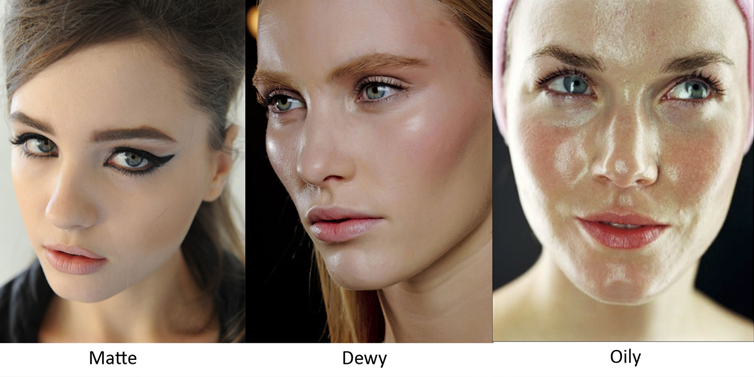See How to get rid of oily shine on face