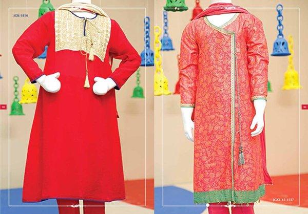 Junaid Jamshed Eid Collection 2015 For Kids009
