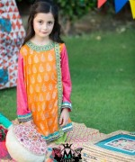 Maria B Eid Collection 2015 Volume 2 For Women And Kids007