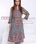 Needle Impressions Ready To Wear Eid Collection 2015 For Women0016