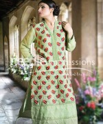 Needle Impressions Ready To Wear Eid Collection 2015 For Women007