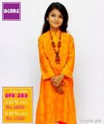 Ochre Clothing Eid Dresses 2015 For Kids 3