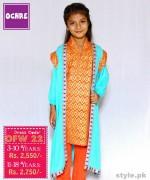 Ochre Clothing Eid Dresses 2015 For Kids 9