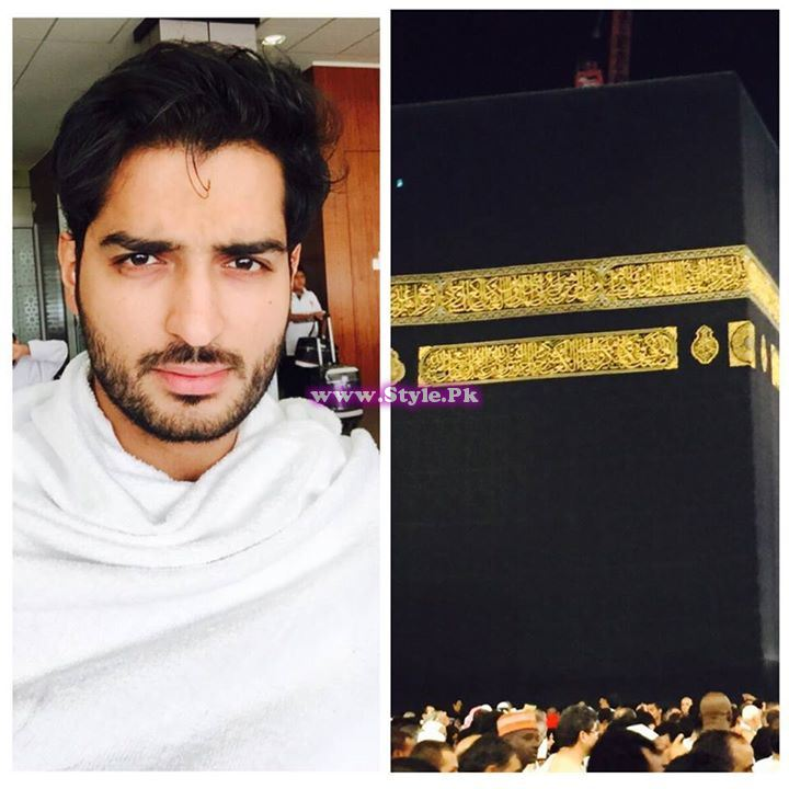 See Pakistani Celebrities who are in Saudia these days