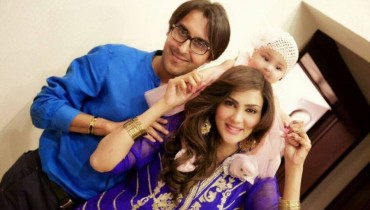 See Pictures of Fiza Ali's daughter on Eid-ul-fitar 2015