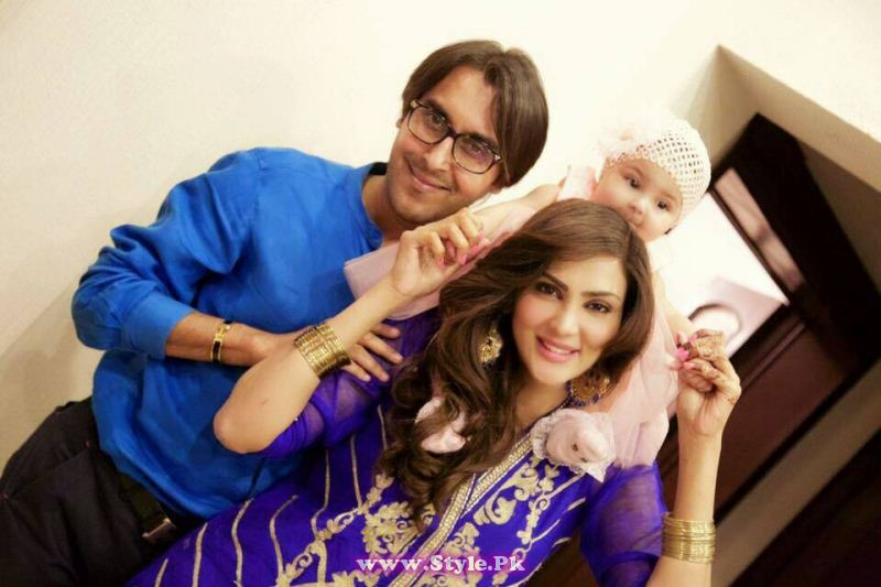 Pictures Of Fiza Ali S Daughter On Eid Ul Fitar 2015