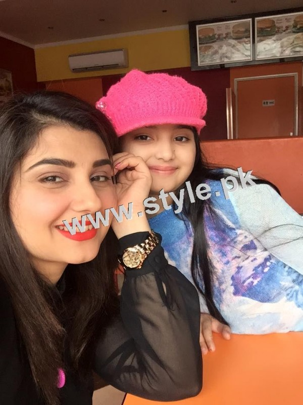 Pictures of Javeria and Saud with Family in Paris 24