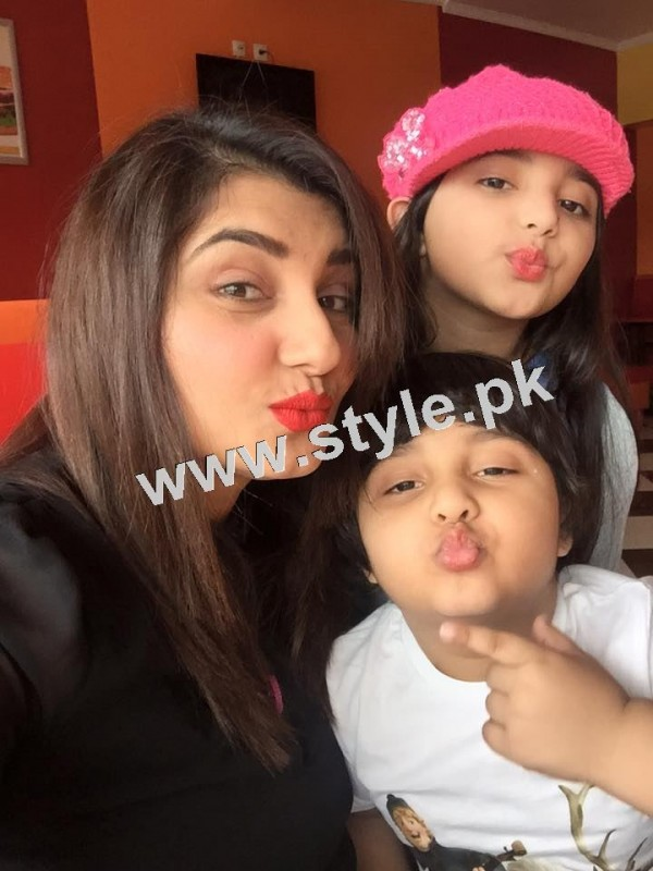 Pictures of Javeria and Saud with Family in Paris 25