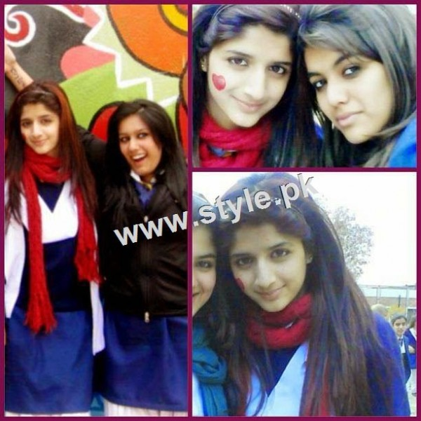 Pictures of Pakistani Celebrities during study days 2