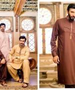 Rivaj Fabrics Eid Collection 2015 For Men001