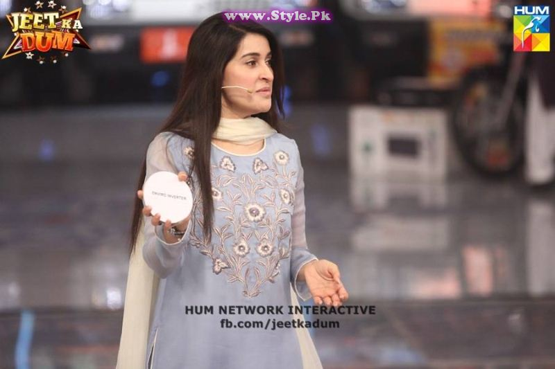 See Finally Shaista Lodhi has appeared on Hum TV after her arrest warrants