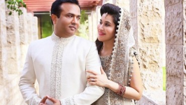 Shaista Lodhi's complete wedding photoshoot 4