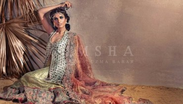 Umsha By Uzma Babar Bridal Wear Collection 2015 For Women0013