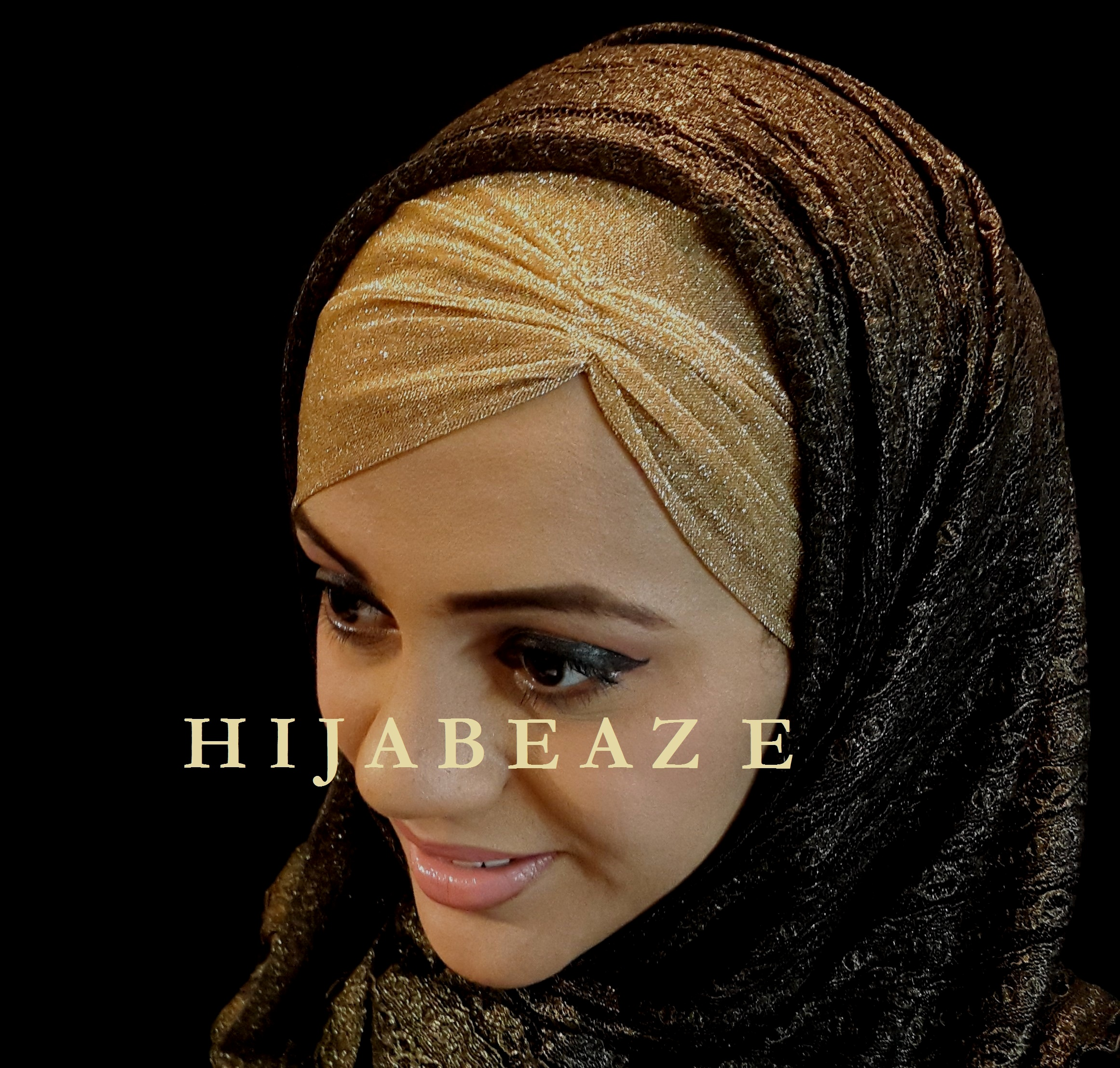Underscarves collection of Hijabeaze 2015 by Urooj Nasir - Underscaf-hijab-cap-5