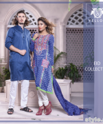 Yellow Eid-Ul-Fitr Collection 2015 For Men and Women 1