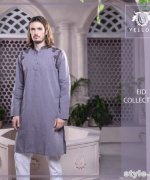Yellow Eid-Ul-Fitr Collection 2015 For Men and Women 10