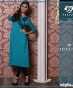 Yellow Eid-Ul-Fitr Collection 2015 For Men and Women 7