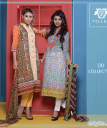 Yellow Eid-Ul-Fitr Collection 2015 For Men and Women 9