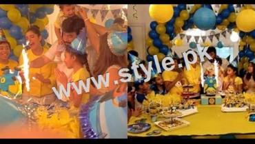 1st Birthday Celebration of Nida and Yasir's son Balaj 19