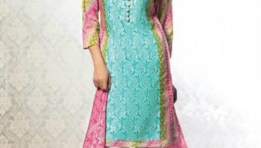 Al-Karam Midsummer Dresses 2015 For Women 9
