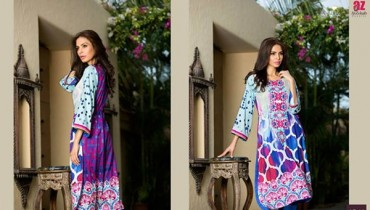 Al Zohaib Textile Tunic Collection 2015 For Women0011