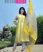 Ayesha Zohaib Linen Collection 2015 For Midsummer 7