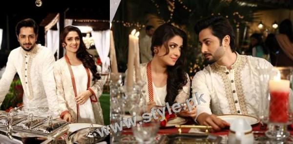 See Ayeza Khan and Danish Taimoor's 1st Wedding Anniversary