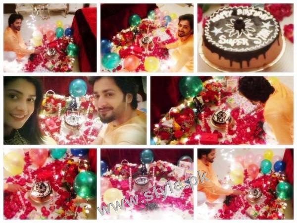 Ayeza Khan and Danish Taimoor's 1st Wedding Anniversary (4)