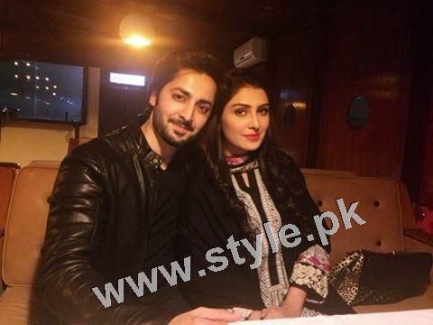 Ayeza Khan and Danish Taimoor's 1st Wedding Anniversary (6)