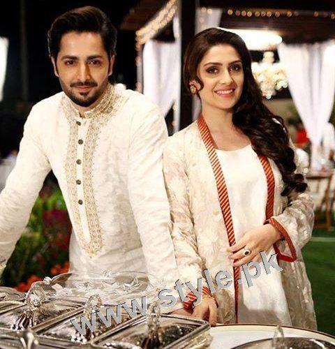 Ayeza Khan and Danish Taimoor's 1st Wedding Anniversary (9)