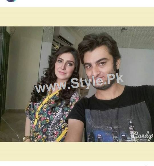 Ayeza Khan's upcoming drama is POSHAK (5)