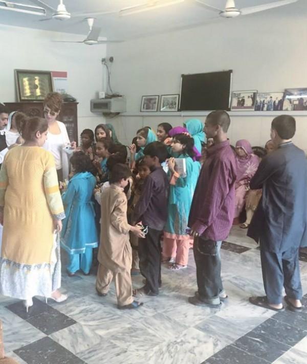 Ayyan Ali visited Edhi foundation Islamabad 10