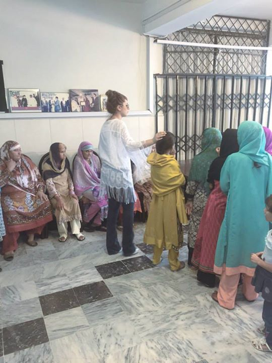 Ayyan Ali visited Edhi foundation Islamabad 14