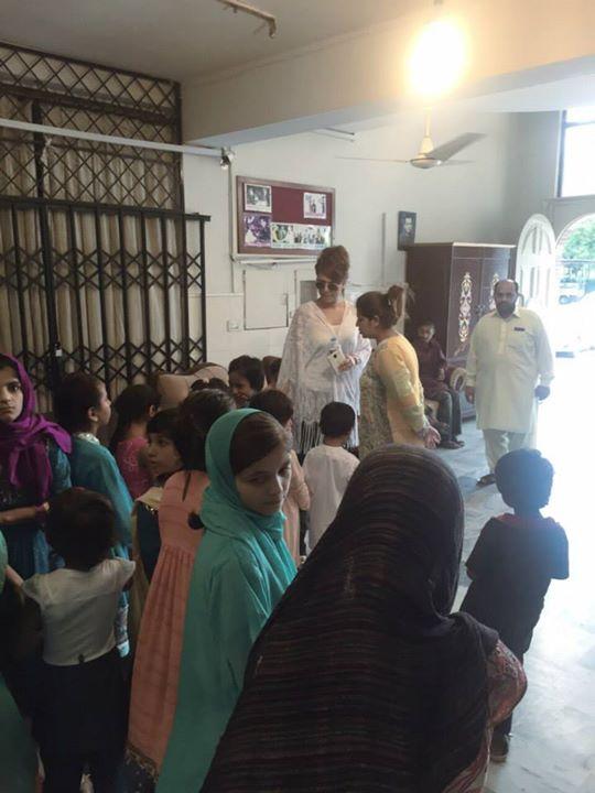 Ayyan Ali visited Edhi foundation Islamabad 15