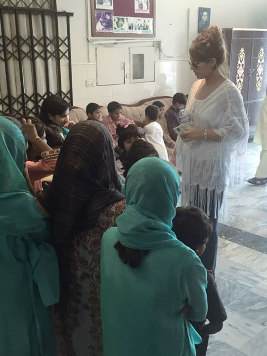 Ayyan Ali visited Edhi foundation Islamabad 16